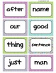 Fry's Word Wall Cards (Words 101-200)  with Purple, Blue, and Green Borders