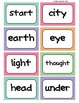 Fry's Word Wall Cards (Words 201-300)  with Smaller Colorful Dots