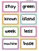 Fry's Word Wall Cards (Words 401-500)  with Colorful Dots