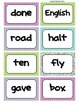 Fry's Word Wall Cards (Words 401-500)  with Purple, Blue, and Green Borders