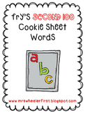 Second Grade Sight Words: Magnetic Letter Mats Activity