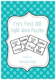Fry's first 100 Sight Word Puzzles Literacy Centre