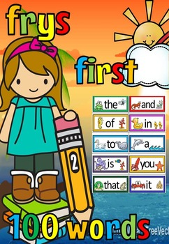 Frys first 100 sight words
