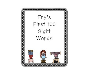 Fry's first 100 word wall words