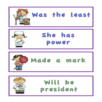 Fry's sight word phrases List 1-6 Community Helper Theme
