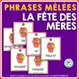 Fête des Mères - FRENCH Mother's Day Sentence Builders