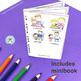 Fête des Pères - FRENCH Father's Day Color & Read