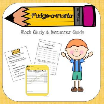 Fudge-A-Mania Book Study