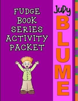 Fudge Series Activity Packet