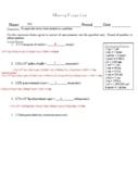 Fudge Lab (Dimensional Analysis; Factor-Label Method in Chemistry)