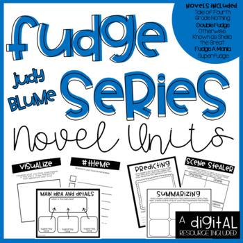 Judy Blume (Fudge Series) Novel Unit Bundle