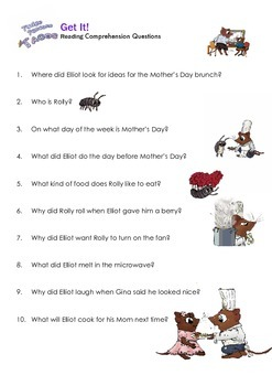 THE SNIPS: Fudge Pancake Tacos Activity - Reading Comprehension