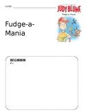 Fudge-a-Mania Graphic Organizer