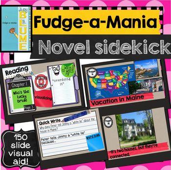 Fudge-a-Mania Novel Sidekick Picture PowerPoint Judy Blume