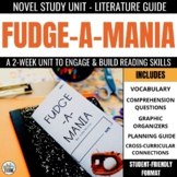 Fudge-a-mania Foldable Novel Study Unit