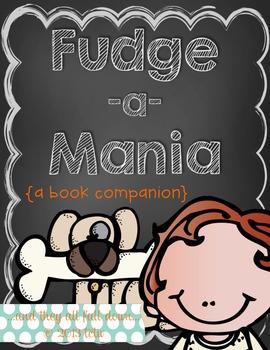 Fudge-a-mania {a book companion}