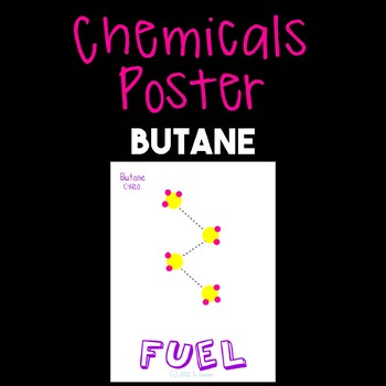 Chemicals Poster--Butane