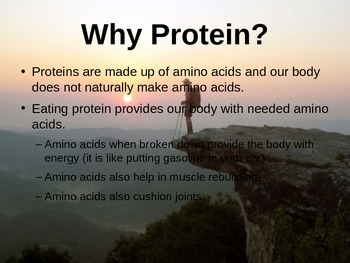 Fueling your Body PowerPoint