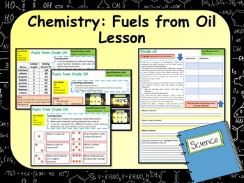 Fuels From Oil Lesson