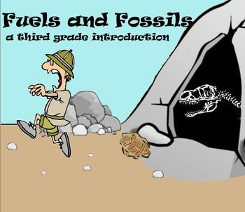 Fuels and Fossils - A Third Grade SmartBoard Introduction