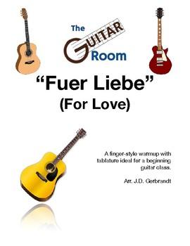 Fuer Liebe - Solo Guitar by J.D. Gerbrandt