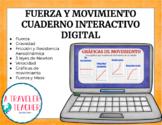 Fuerza y Movimiento Cuaderno Interactivo Digital  (Distanc