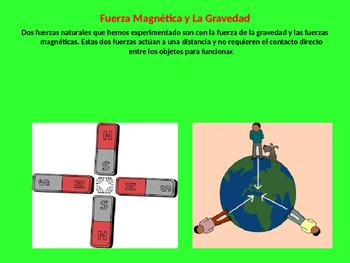 Fuerza y Movimiento- Spanish PowerPoint