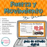 Fuerza y movimiento guía de estudio digital