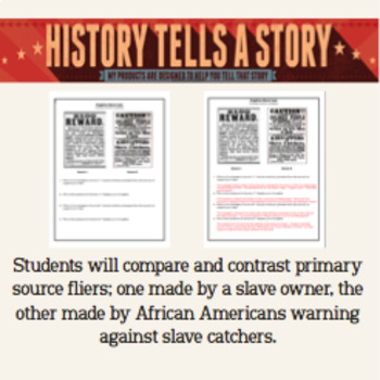 Fugitive Slave Laws:  Primary Sources!