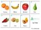 Fuits: *SPANISH* 25 Montessori 3-part Cards
