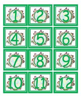 Fulanito calendario (Sticky Kids)