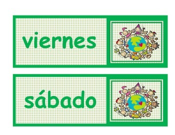 Fulanito días de la semana (Sticky Kids) español