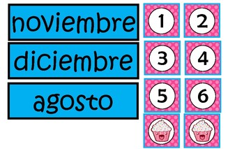 Fulanitos Numbers and Month Of The Year