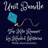 Full 4-Week Unit on The Kite Runner by Khaled Hosseini