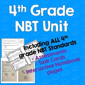 4th grade NBT Unit Bundle