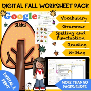 Full Autumn Activity Pack -Back to School #BTS2017