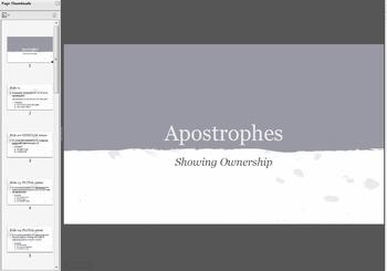 Mini Apostrophe Unit - Common Core Aligned