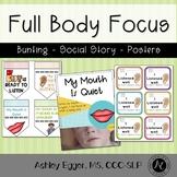 Full Body Focus: Visual Cues for Improving Listening Skills