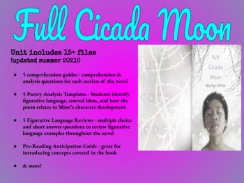 Full Cicada Moon ELA Unit