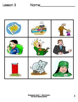Full Circle Kindergarten Book 1 - Short Vowel a Word Families