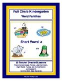 Short Vowel a Word Families