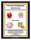 Full Circle Kindergarten Book 4 - Short Vowel i Word Families