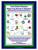 Full Circle Phonics - Book 3 - Beginning Blends and Digraphs