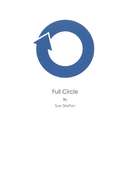Full Circle by Sue Grafton