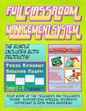 Full Classroom Behavior Management System with Rules and Token Economy
