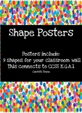 Full Color Shape Posters