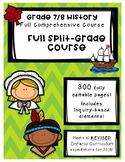 Full Comprehensive Split-Grade Course - Ontario History 7/8
