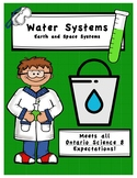 Full Comprehensive Unit - Earth and Space - Water - Ontario Science 8