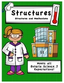 Full Comprehensive Unit - Structures and Mechanisms - Ontario Science 7