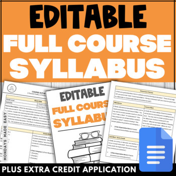 what is a course syllabus